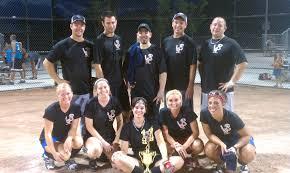 Adult softball team